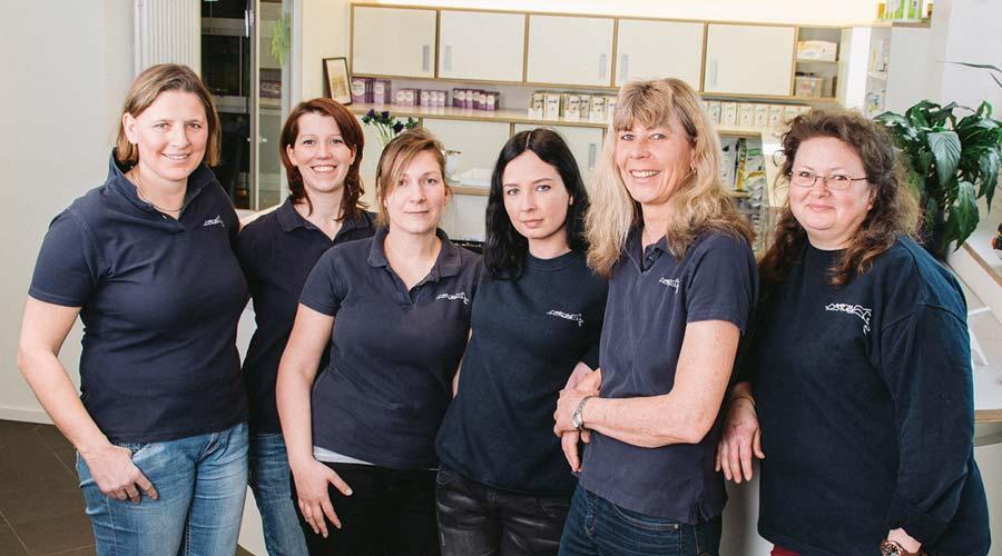 Das Team der Tierarztpraxis Dr. Christian & dr. Rüschoff
